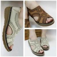 Original Sepatu Sandal Wanita Berkualitas Kikers Flat Shoes Bm14