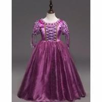 HOT SALE baju pesta/baju princess Disney kostum Rapunzel anak