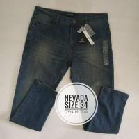 Celana Jeans Pria Celana jeans Panjang size 34 ORI Nevada Berkualitas
