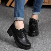 Sepatu Heels Boots Wanita GIBSON REALPICT Women Shoes Sol Docmart -