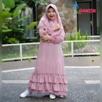 Terbaru Gamis anak remaja baju muslim anak perempuan gamis anak polos