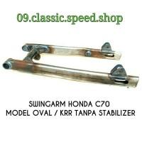 Swing Arm arem Honda C70 Model Oval Kawasaki NINJA KRR Tanpa Stabilize