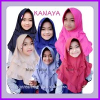 Jilbab Anak Kanaya Kerudung Mini Bergo Bahan Kaos Zoya