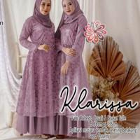gamis wanita muslim baju mewah seragam pesta pernikahan prewedding