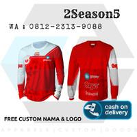 2s5   Baju Kaos Jersey Gaming Tangan Panjang Bigetron Esport PUBG 2020