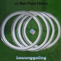 White List - Lis Ban Putih polet Hitam Motor Honda C70 C 70 Ring 17