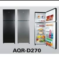 AQUA Kulkas 2 Pintu AQR D 270 D270 LS / DS