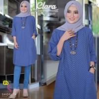 Baju Atasan Wanita Blouse Muslim Clara Tunik Shofiya