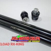 Preload Pre Load setelan Shock depan Bpro Yamaha Rx King