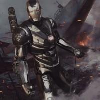 ZD Toys Marvel Avengers Infinity War Warmachine Endgame Machine Figure