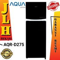 Kulkas Aqua Japan AQR-D275 inverter lemari es 2 pintu no frost 275