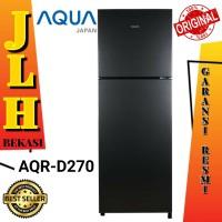 Kulkas Aqua Japan AQR-270 lemari es 2 pintu no frost 270