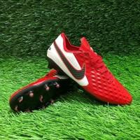 Sepatu Bola Nike Tiempo Legend 8 Elite Red Black FG