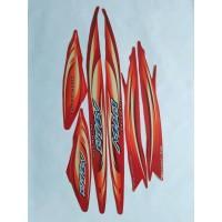 stiker striping yamaha mio sporty 2007 merah