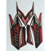 stiker striping yamaha rx king 2008 merah