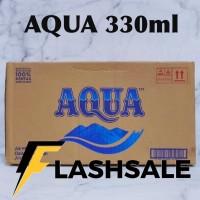 aqua botol kecil 330ml