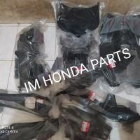 cover body tebeng kasar full set Honda Vario 110 cw karbu lama origina