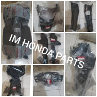 cover body tebeng kasar full set Honda Vario 110 CW karbu original