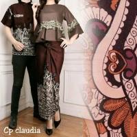 baju caupel pelicia & Claudia batik pesta