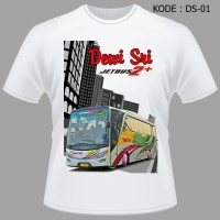 Kaos Bis Dewi Sri, Baju Bus, Jetbus Hd, Shd, Bmc, Tshirt Bismania,