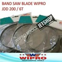 Mata Band Saw Blade WIPRO JDD 200 6T Mata Mesin Gergaji Pita