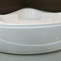 bathtub sudut riivera aprone marbel include kran tanem full kuning