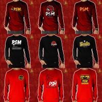 Baju Kaos Pria Lengan Panjang PSM Makassar Reseller PJ