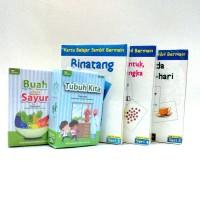 Paket MIX A Flash Card / FlashCard / Kartu Bayi / Mainan Edukasi Anak