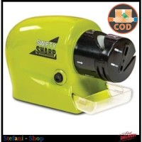 Swifty Sharp Alat Pengasah Pisau Elektrik Otomatis alat Asah gunting