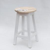 Kursi Kayu / Bangku kayu bulat