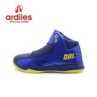 Ardiles X DBL Men Aza Fundamental Sepatu Basket - Biru Navy Kuning