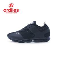 Ardiles Men Servo Sepatu Running - Hitam - Hitam, 40