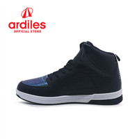 Ardiles X DBL Men Halona Sepatu Basket - Hitam - Hitam, 38