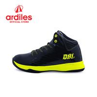 Ardiles X DBL Men Aza Fundamental Sepatu Basket - Hitam Citroen