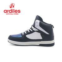 Ardiles X DBL Men Halona Sepatu Basket - Hitam Putih - Hitam Putih, 38