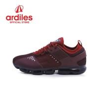 Ardiles Men Servo Sepatu Running - Maroon