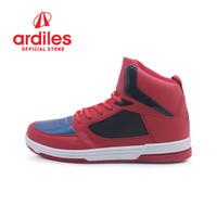 Ardiles X DBL Men Halona Sepatu Basket - Merah - Merah, 38