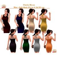 Bintang Rajut Indo || Clarin Dress Tali Knit Bodycon Dress Rajut Sexy