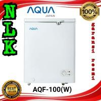 AQUA JAPAN Chest freezer box AQF-100(W) pembeku daging es 105 liter