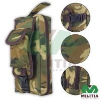Tas Kecil Pouch Hand Bag Tempat Pensil Loreng Camo Army Tactical