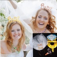 Bando Bride peluit willy paket Bridal shower 4p02 - Rosegold