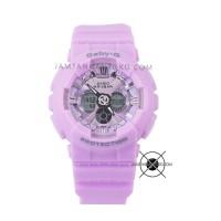 Jam Tangan Baby-G BA-130-6A Purple Pink BABYG BA130 Original ORI BM