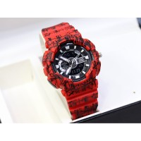 STOCK TERBATAS !!! Jam tangan wanita & anak Baby-G BA-110 loreng army