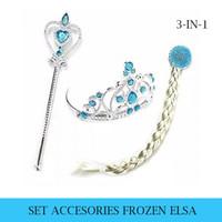 Tiara Set Anna Elsa / Mahkota Anna Elsa / Tongkat Frozen - Frozen - Elsa