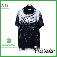 Baju Kaos hoodie - Hodie Kupluk - Premium Motif abstrak doperus premiu