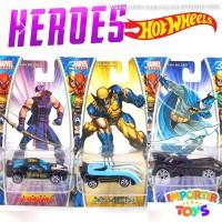 MAINAN MOBIL DIECAST: MARVEL (HalkEye, X-Men Wolverine, Batman) - Ungu