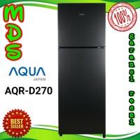 kulkas Aqua JAPAN AQR-D270 lemari es 2 pintu no frost 270