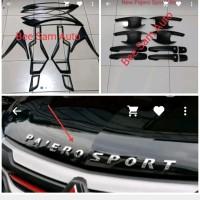 Paket Aksesoris Mitsubishi All New Pajero Sport Hitam Doff