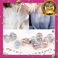 Pin Bross Mutiara Berlian Kristal Pearl Premium Quality Best Seller!