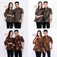 Baju Batik Couple Keluarga Modern | Baju Mama Papa Ayah Bunda Terbaru